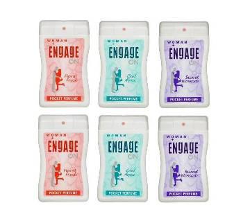 Engage On লেডিজ পারফিউম - 18 ml - India - 1Pc