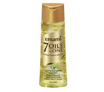 Emami 7 Oils In 1 ড্যামেজ কন্ট্রোল হেয়ার অয়েল - 200ml - India