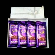 Cadbury Dairy Milk Silk Bubbly চকোলেট - India - ১০ পিস
