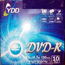 YDD BLANK DVD