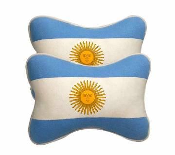 Argentina theme CAR NECK PILLOW