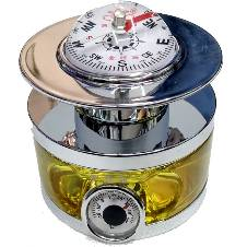 CAR PERFUME COMPASS YELLOW