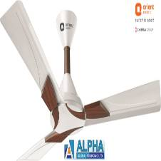 Wendy Pearl White Walnut Ceiling Fan 48''