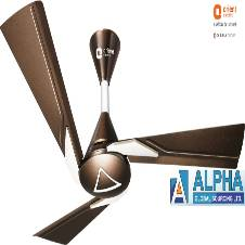 Orina Chocolate Brown Ceiling Fan 48''