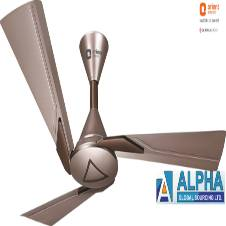 Orina Copper Brown Ceiling Fan 48''