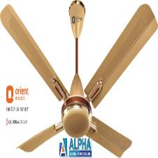 Quadro Golden Chocolate Ceiling Fan 48''