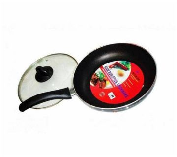 kiam Non-Stick 28 CM Fry Pan With Glass Lid