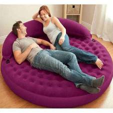 INTEX Round Shape Inflatable Air Sofa