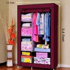 wardrobe closet storage rack