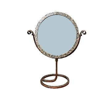 MRR-108 - Round Cosmetic Table Mirror - Antic