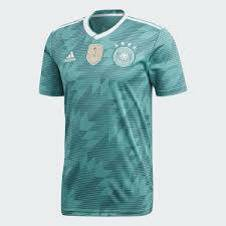 2018 World Cup Germany Away Jersey - Half Sleeve