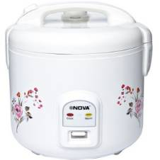 Nova 1.8L Deluxe Rice Cooker With Steamer - NRC980