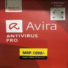 Avira Antivirus PRO + Internet Security 2018 - 5 Device