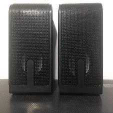POWER 100 USB 2.0 স্পিকার - কালো