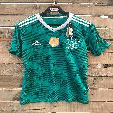 World Cup 2018 Germany Away Home Jersey -Short Sleeve (Thailand Premium Replica)