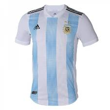 2018 World Cup Argentina Home Jersey - Half Sleeve (Copy)