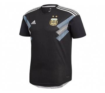 2018 World Cup Argentina Away Jersey - Half Sleeve (Copy)