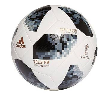 2018 FIFA World Cup Russia Telstar Top Soccer Ball - Black and White