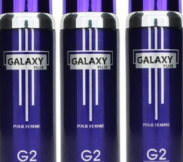 GALAXY PLUS G2 POUR  BODY SPRAY 200 ML