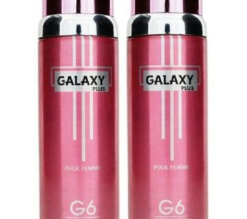 GALAXY PLUS G6 POUR  BODY SPRAY 200 ML