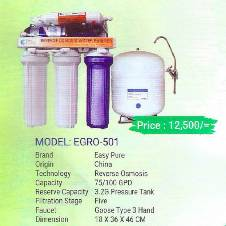 Easy Pure EGRO-501 water Purifier