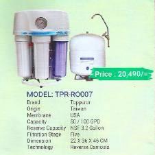 Toppuror TPR-RO007 water Purifier