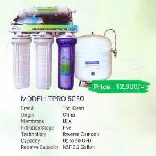 Top Klean TPRO-5050 water Purifier