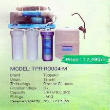 Toppuror TPR-RO004-M water Purifier