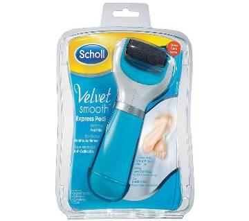 Scholl Velvet Electric Pedicure Kit