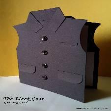 The Black Coat Greeting Card