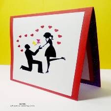 Propose Greeting Card