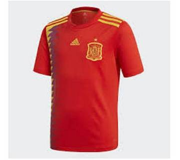 mens half sleeve world cup jersey Spain