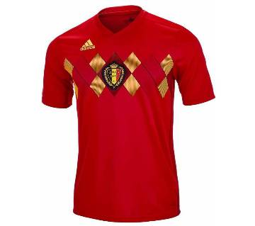 mens half sleeve world cup jersey Belgium
