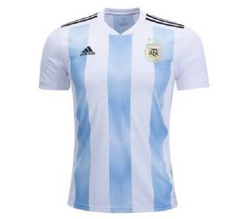 mens half sleeve world cup jersey Argentina -Copy