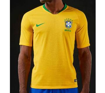 mens half sleeve world cup jersey Brazil