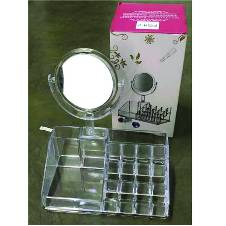 Acrylic কসমেটিক অরগানাইজার (Mirror)