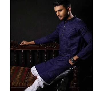 Menz Cotton Semi Long Panjabi