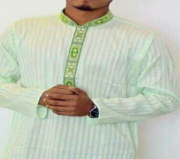 জেন্টস সেমি লং কটন পাঞ্জাবি