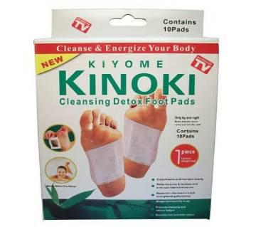 Kinoki ক্লিনজিং ডিটক্স ফুট প্যাড - ৩ পিসের কম্বো (সাথে ১টি ফ্রি)