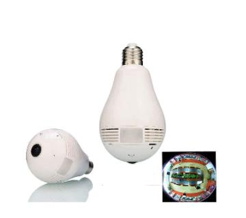 360 Degree Panaromic Light Bulb IP Wifi Camera