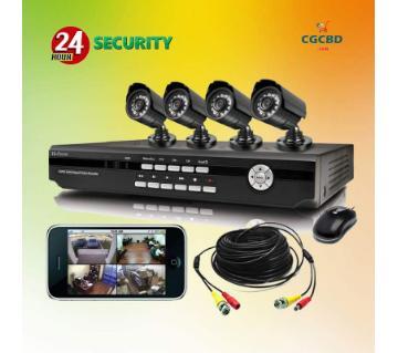 ৪ ক্যামেরার CCTV  প্যাকেজ