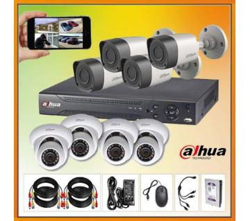 Dahua 2Mp CCTV 4 Camera Package