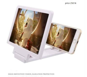 3D Mobile Enlarged Screen Glass
