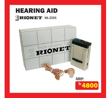 RIONET HA-20DX HEARING AID