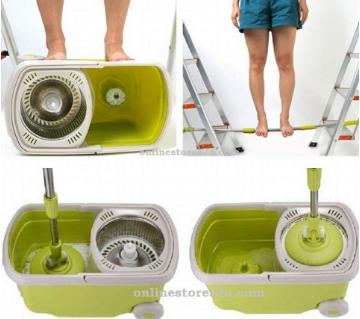Easy Spin Mop with Bucket