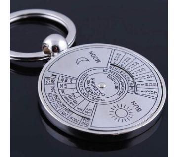 50 Year Calendar Key Ring