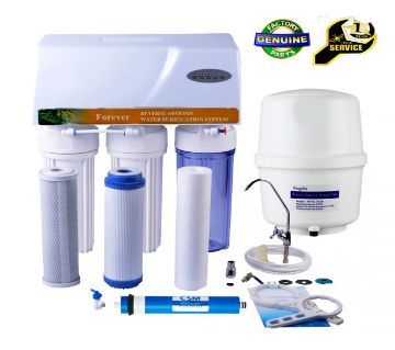 5-Stage Forever RO 75 GPD Water Purifier System with Dust Cover