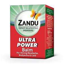 Zandu Balm Ultra পাওয়ার India