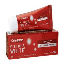 Colgate Toothpaste Visible White Sparkling Mint - 100 g India