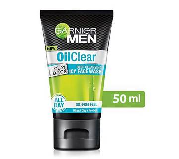 Garnier Men Oil Clear deep cleansing ফেস ওয়াশ India
